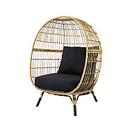 Apolima Rattan effect Egg Chair