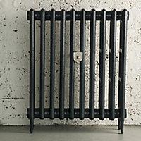 Arroll Chrome effect Radiator wall stay (H)265mm (W)50mm