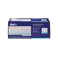 Artex Easifix Classic C-shaped Paper faced plaster Internal Coving corner (L)340mm (W)127mm, Pack of 4