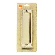 B&Q Brass effect Georgian Door knocker