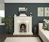 Be Modern Adriana Manila Fire surround with lights