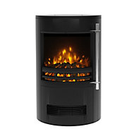 Be Modern Orba Black Cast iron effect Electric Stove