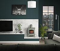 Be Modern Torva Grey Cast enamel effect Electric Stove