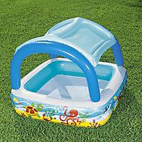 Bestway Canopy PVC Paddling pool, 1.4m