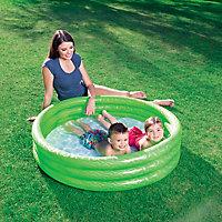 Bestway Fast set 3 ring PVC Paddling pool, 1.02m