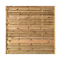 Blooma Arve Fence panel (W)1.8m (H)1.8m