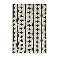 Blooma Birch & moonless night Twill Outdoor rug (L)1.7m (W)1.2 m