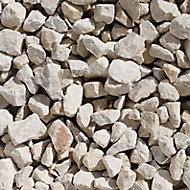 Blooma Cotswold buff Decorative stones, Bulk Bag