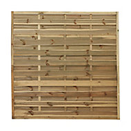 Blooma Douro Fence panel (W)1.8m (H)1.8m