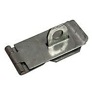 Blooma Galvanised Steel Hasp & staple, (L)76mm (W)39mm