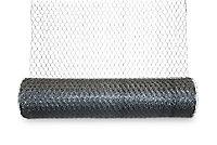 Blooma Galvanised Steel Triple torsion mesh, (L)5m (W)0.5m (930g)