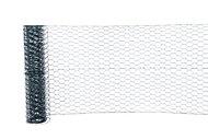 Blooma Green PVC-coated Steel Triple torsion mesh, (L)10m (W)0.5m (1950g)