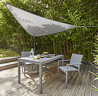 Blooma Grey 3m Shade sail
