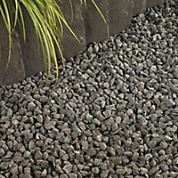 Blooma Grey Decorative chippings, Bulk 790kg Bag
