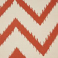 Blooma Mango & whisper white Twill Outdoor rug (L)2.3m (W)1.6 m
