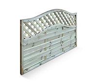 Blooma Mokcha Decorative Fence panel (W)1.8m (H)1.05m