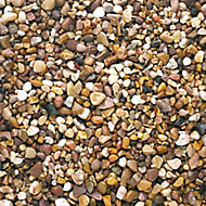 Blooma Naturally rounded Brown Decorative stones, Bulk Bag
