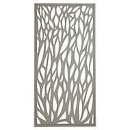 Blooma Neva Aluminium Leaf Gate, (H)1.7m (W)0.93m