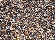 Blooma Pearl grey Decorative stones, Large 22.5kg Bag