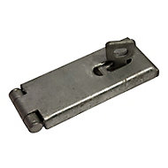 Blooma Steel Hasp & staple, (L)114mm (W)46mm