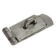 Blooma Steel Hasp & staple, (L)254mm (W)55mm