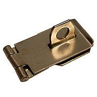 Blooma Steel Hasp & staple, (L)64mm (W)39.5mm
