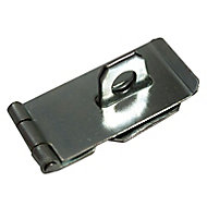 Blooma Steel Hasp & staple, (L)76mm (W)39mm