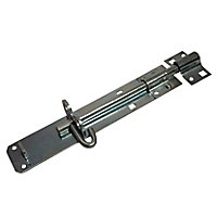 Blooma Zinc-plated Brenton Steel Gate bolt, (L)204mm