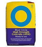Blue Circle High strength Ready mixed Concrete, 20kg Bag