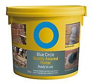 Blue Circle Quality assured Ready mixed Mortar, 5kg Tub