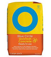 Blue Circle Quick set Ready mixed Concrete, 20kg Bag