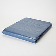 Blue Tarpaulin, (L)8m (W)5m