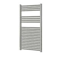 Blyss 415W Chrome Towel warmer (H)1200mm (W)600mm