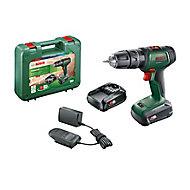 Bosch Power for ALL 18V 2.0Ah Li-ion Cordless Combi drill 0.603.9D4.172