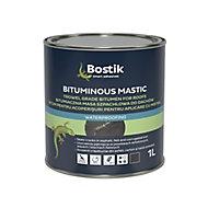 Bostik Black Bituminous mastic, 1L