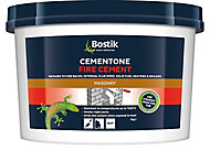 Bostik Cementone Buff Ready mixed Fire cement, 1kg Tub