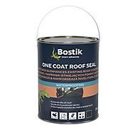 Bostik One coat Black Roof & gutter Sealant, 5L