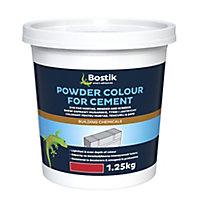 Bostik Red Powder colour, 1.25L, 1.25kg Tub