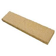 Buff Textured Coping stone, (L)580mm (W)136mm