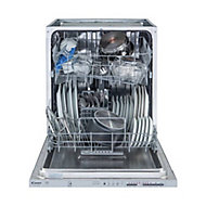 Candy CDI 1LS38S-80/T Integrated Silver Full size Dishwasher
