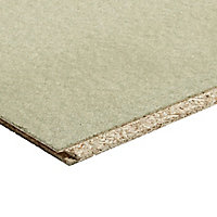 Chipboard Tongue & groove Floorboard (L)2.4m (W)600mm (T)22mm
