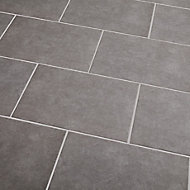 Cimenti Grey Matt Concrete effect Ceramic Wall tile, Pack of 10, (L)402.4mm (W)251.6mm, Sample