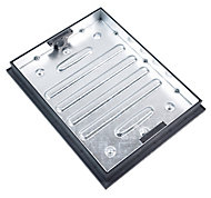Clark Rectangular Framed Recessed Manhole cover, (L)600mm (W)450mm