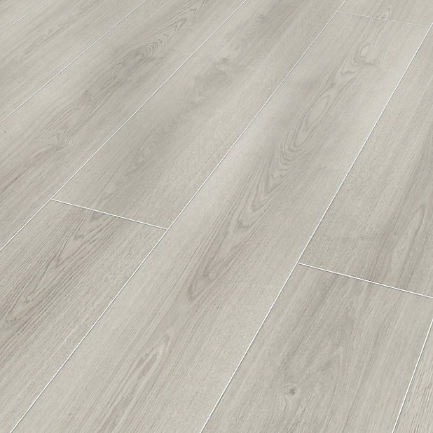 Classen Milano Grey Oak Effect Laminate, How Many Planks In A Pack Of Laminate Flooring