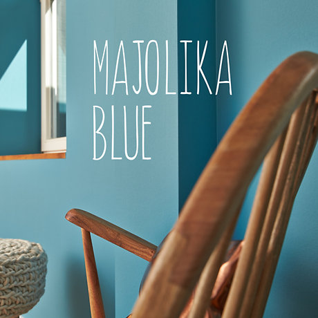 Image of Majolica Blue colour