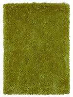 Colours Benita Green Rug (L)1.7m (W)1.2m