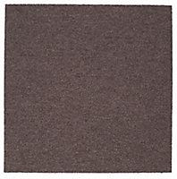 Colours Brown Loop Carpet tile, (L)500mm