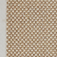 Colours Fabianna Flatweave with border Natural Rug (L)1.7m (W)1.2m