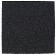 Colours Graphite Loop Carpet tile, (L)500mm