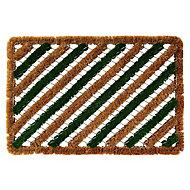 Colours Green & natural Door mat (L)0.6m (W)0.4m